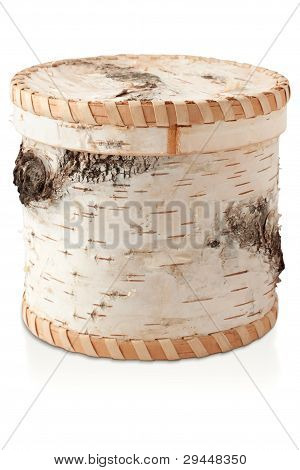 The Casket Of Birch Bark