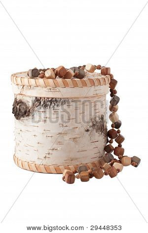 The Casket With Wooden Beads