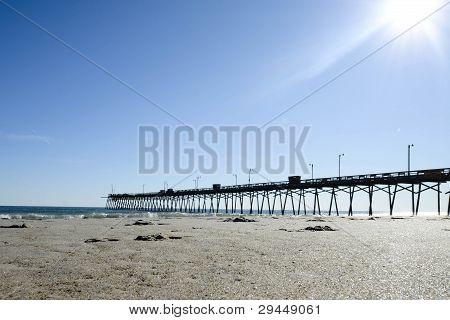 Pier At The Beach