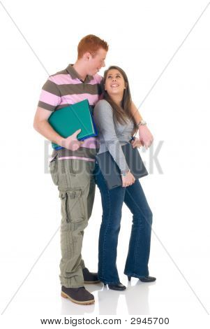 Teen Students  High School Love