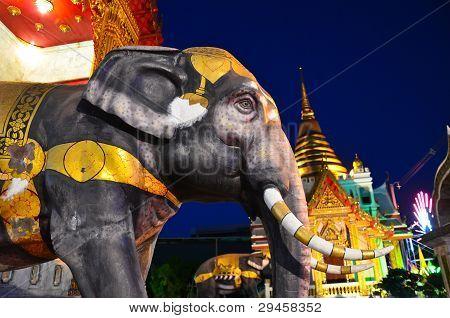Elephant In The Temple, Religious Symbol