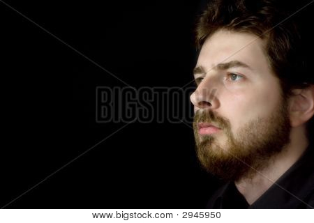 Thoughtful Businessman Thinking About His Future