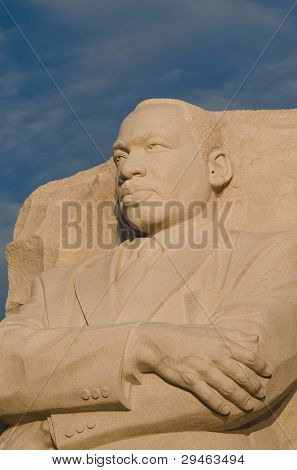 Martin Luther King Memorial in Washington DC, United States