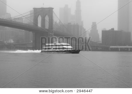 Misty Day/Manhattan