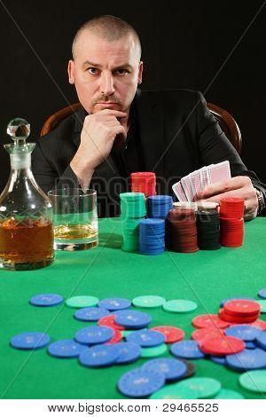 Card Player Winning