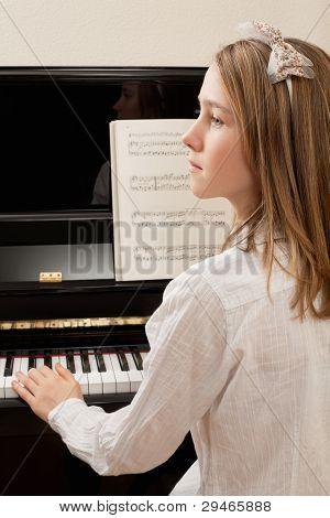 Práctica de piano