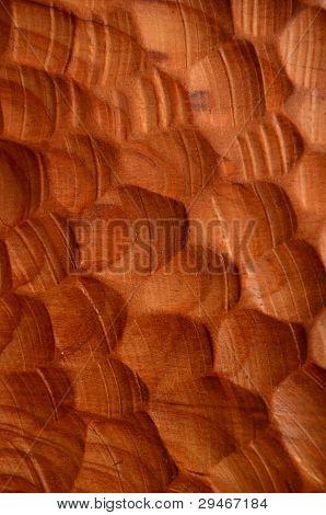 Achtergrond van gesneden hout