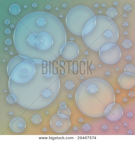 bubbles background texture