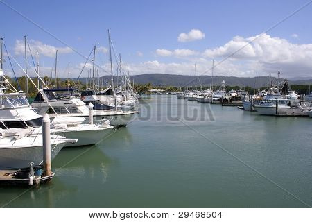 Port Douglas Marina, Queensland, Australia
