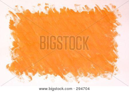 Painted Orange Background