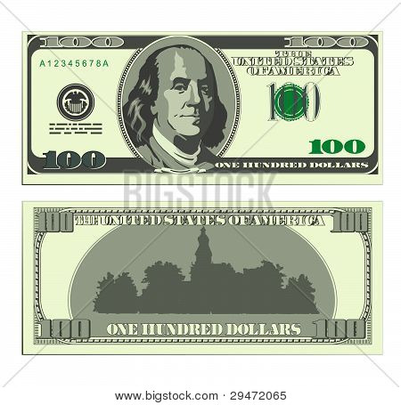 Dollar-banknote