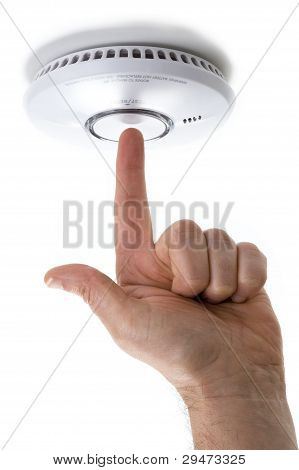 Testing A Domestic Smoke Detector