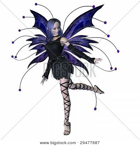 Winter Goth Fairy - 3