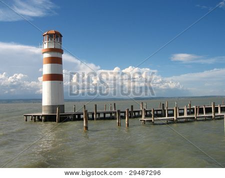 lighthouse of podersdorf