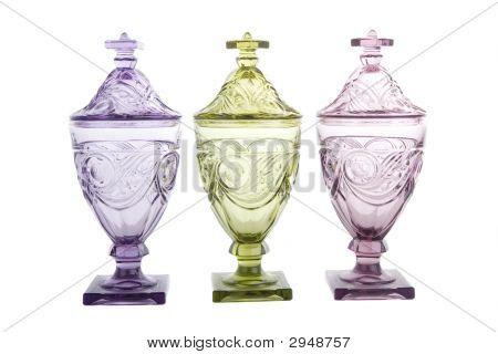 Three Candy Jars