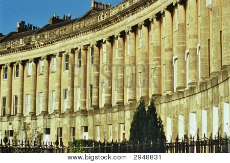 Royal Crescent, Bath, Avon, England