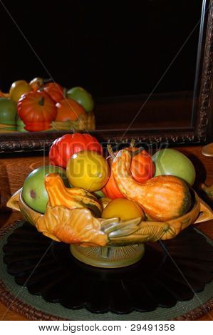 Fruit With Reflection
