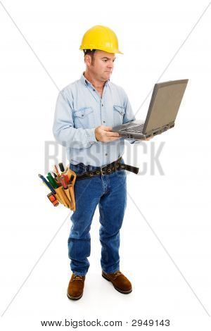 Contractor & Computer Full Body