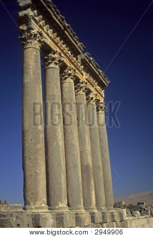 Columns, Temple Of Jupiter