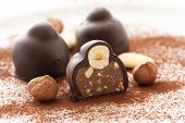 foto of cobnuts  - Praline with Hazelnut - JPG