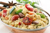 stock photo of tabouleh  - Kuskus with Vegetable - JPG