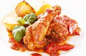 Cacciatore with Potato