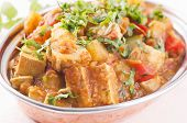 image of paneer  - Paneer vegetable jalfrezi - JPG