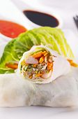 foto of nem  - Spring rolls with chicken and vegetables - JPG