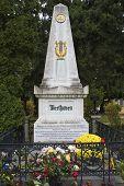 Постер, плакат: Место захоронения Людвиг ван Бетховен Вена