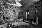 pic of carron  - 13th century Carron Church in the Buren Co. Clare Ireland