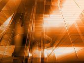 Architectural Orange poster