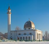 foto of sankt-peterburg  - New mosque in Sankt - JPG