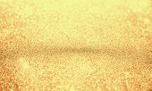 Abstract Bokeh Background. Christmas Glittering Background. Abstract Christmas Golden Background. Gl poster