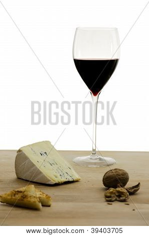 Cheese And A Red Wine
