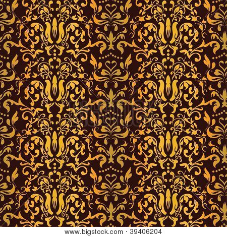 Barocco Seamless Pattern Vector