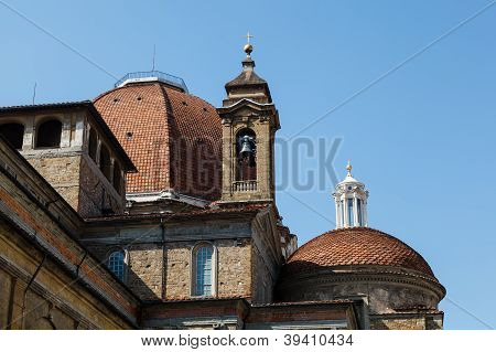 Medici Chapels In The San Lorenzo Church In Florence, Tuscany, Italy