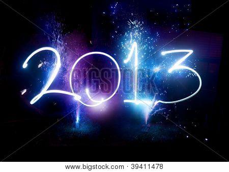 Fuegos de año nuevo de la 2013!