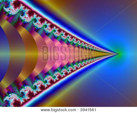 Fractal Image Of Discs