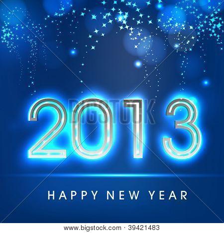 Happy New Year 2013. EPS 10.