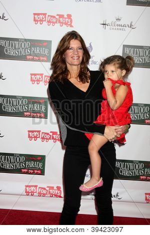 LOS ANGELES - NOV 25:  Michelle Stafford, Natalia Stafford arrives at the 2012 Hollywood Christmas Parade at Hollywood & Highland on November 25, 2012 in Los Angeles, CA