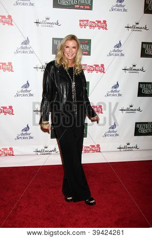 LOS ANGELES - NOV 25:  Katherine Kelly Lang arrives at the 2012 Hollywood Christmas Parade at Hollywood & Highland on November 25, 2012 in Los Angeles, CA