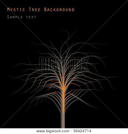 Mystic Tree Background