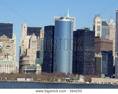 Growing Buildings In Battery Park.