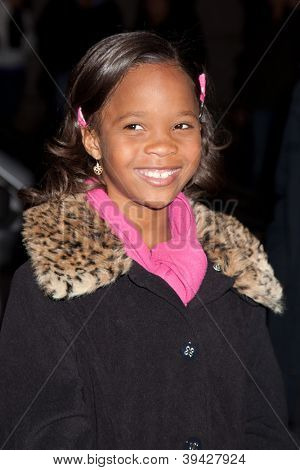 NEW YORK, NY - NOVEMBER 26: Quvenzhane Wallis  attends the IFP's 22nd Annual Gotham Independent Film Awards at Cipriani Wall Street on November 26, 2012 in New York City.