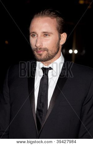 NEW YORK, NY - NOVEMBER 26: Actor Matthias Schoenaerts attends the IFP's 22nd Annual Gotham Independent Film Awards at Cipriani Wall Street on November 26, 2012 in New York City.