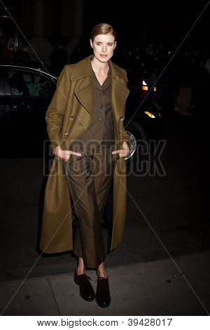 NEW YORK, NY - NOVEMBER 26: Agyness Deyn attends the IFP's 22nd Annual Gotham Independent Film Awards at Cipriani Wall Street on November 26, 2012 in New York City