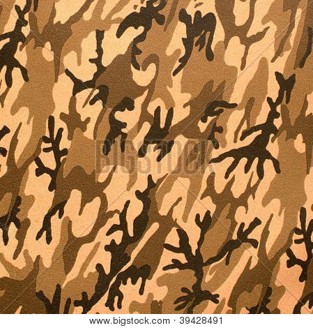 Camouflage Texture Artificial Leather
