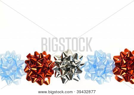 Gift Wrapping Bows Border