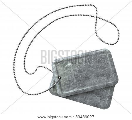 Blank Identity Dog Tags Top