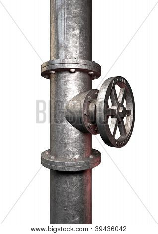 Metal Shutoff Valve Side